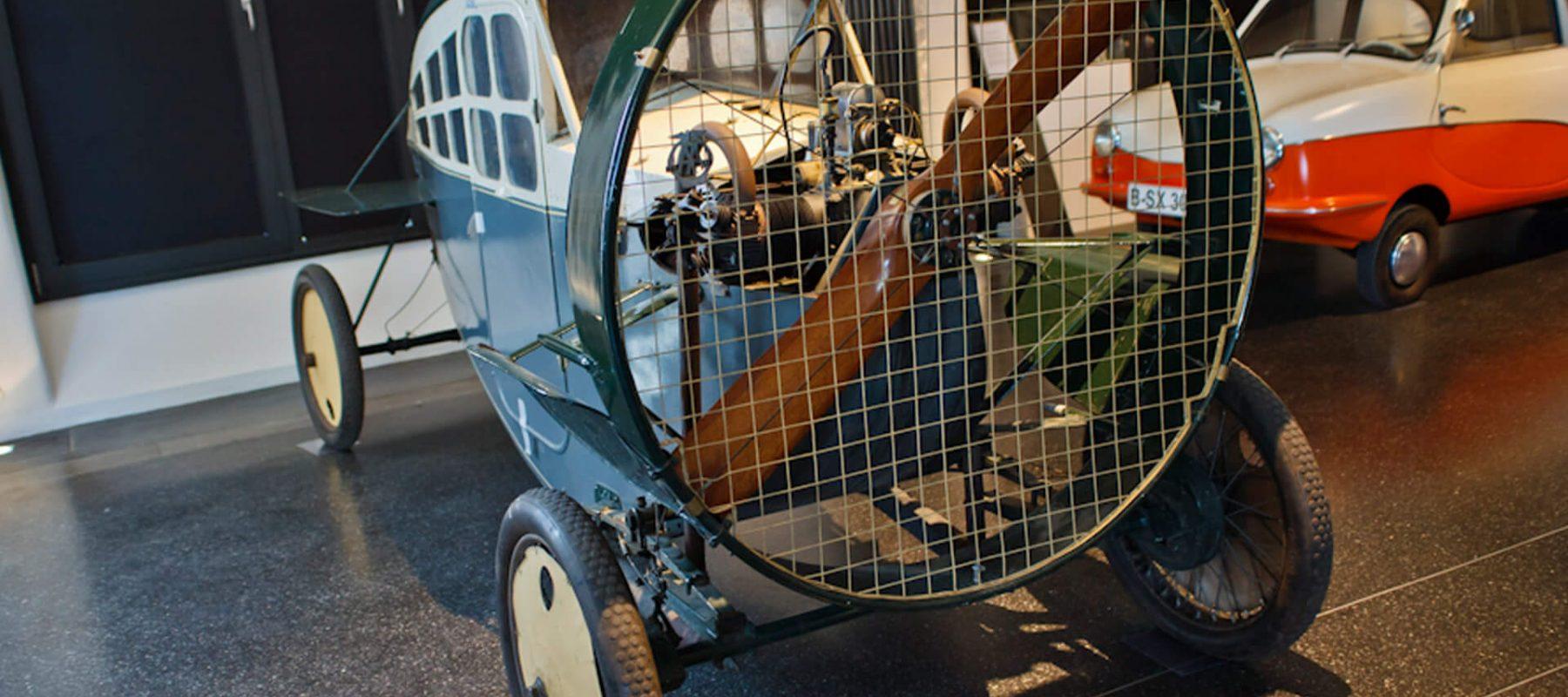 Das Hamburger Automuseum Prototyp wagte 2009 mit der Sonderausstellung