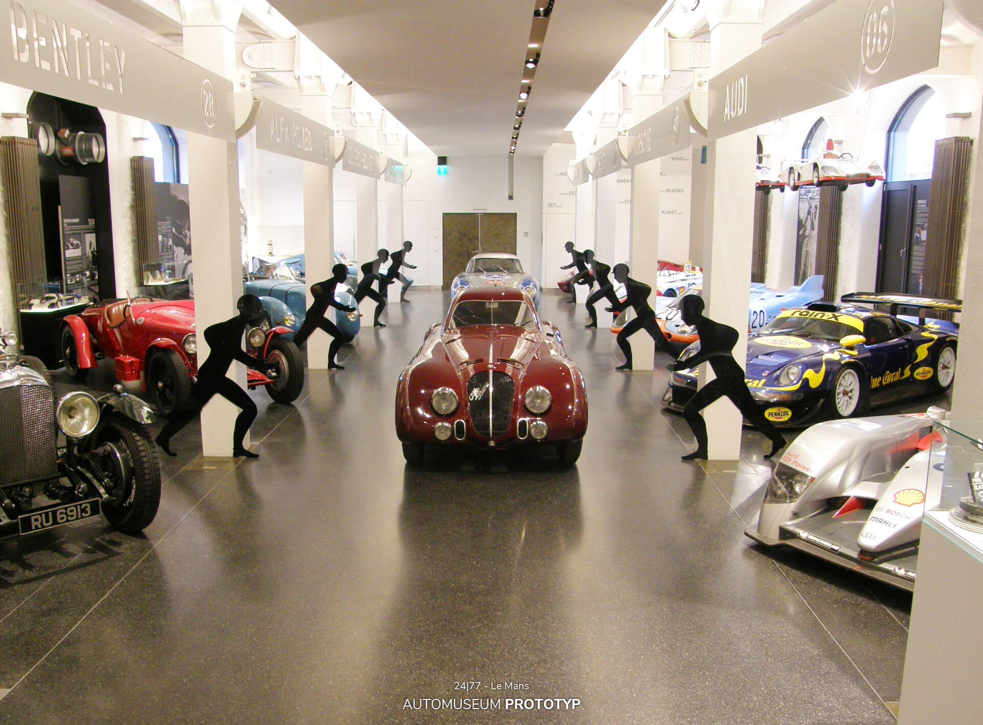 Das Hamburger Automuseum Prototyp präsentierte 2009/2010 in seiner Sonderausstellung